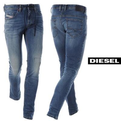 ディーゼル DIESEL デニムスウェットパンツ メンズ ジョグジーンズ THOMMER-Y-NE A00882-069SZ ウォッシュドブルー 2021春夏セール