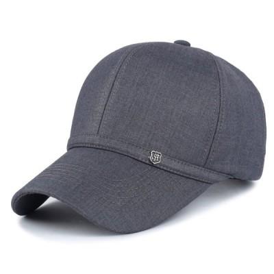 キャップ 野球帽 ヒップホップ メンズ ウィメンズ 調節可能 グレー