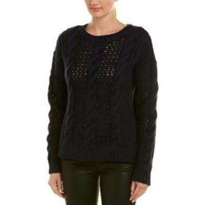 ファッション トップス Sandro Lara Wool-Blend Sweater