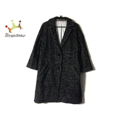 ドレステリア DRESSTERIOR コート レディース 黒×白 冬物        値下げ 20210731