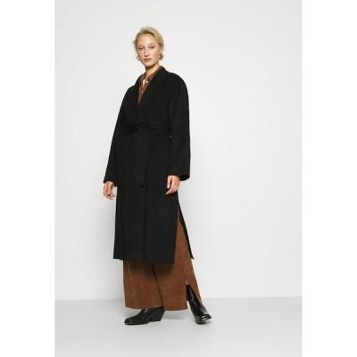 アイビー アンド オーク コート レディース アウター BELTED COAT - Classic coat - black
