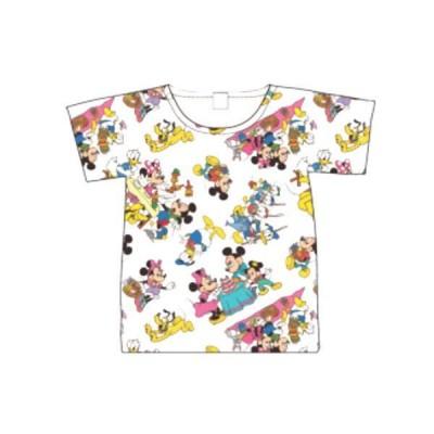 スモAWDS7156【ディズニーキャラクター】Tシャツ【M】【パターン】【ミッキーマウスとフレンズ】【ミッキーマウス】【ミッキー】【みっきー】【ディズニー】【…