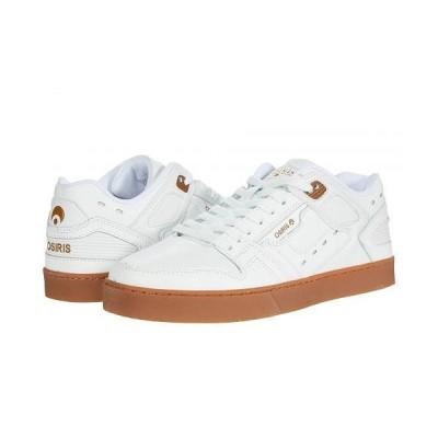 Osiris オシリス メンズ 男性用 シューズ 靴 スニーカー 運動靴 Kicks - White