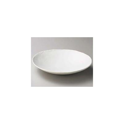 和食器 カ258-037 白マット浅ボール