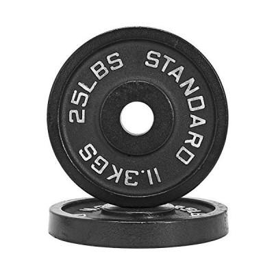1.25lb???45lb鉄重量プレートペア/ウエイトリフティング、パワーリフティング、& Other強度トレーニング機器