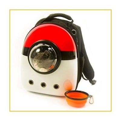【☆送料無料☆新品・未使用品☆】Xpect 防水透湿レッドとホワイト猫キャリアバブルバックパックペット旅行バ