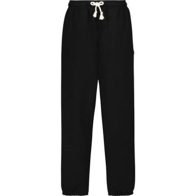 アクネ ストゥディオズ Acne Studios レディース スウェット・ジャージ ボトムス・パンツ Frack Face cotton sweatpants Black