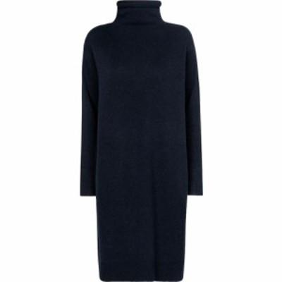 マックスマーラ S Max Mara レディース ワンピース ミドル丈 ワンピース・ドレス Adelfi wool and cashmere midi dress Nachtblau