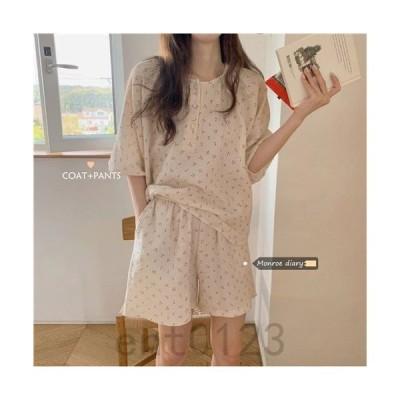 ニューモデル 小格子 パジャマ ルームウェア 夏物 薄手 プリンセススタイル快適 可愛い おしゃれ レディース おとな シンプル