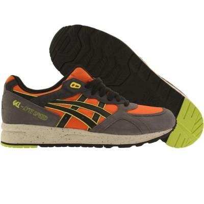 アシックス Asics Tiger メンズ スニーカー シューズ・靴 Gel-Lyte Speed orange/dark grey
