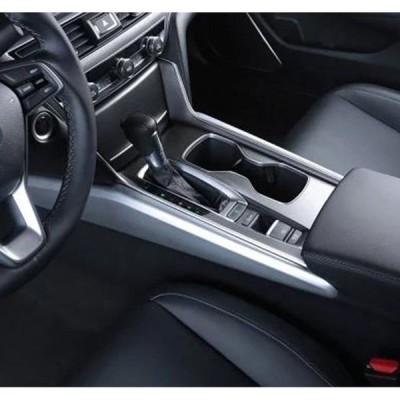 Honda Accord 10th 20182019のギアカバー装飾アクセサリーの両側にある2個の装飾ストリップ