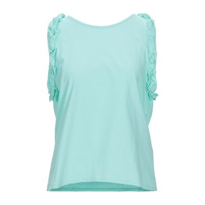 SOLOTRE T シャツ ライトグリーン M コットン 100% T シャツ