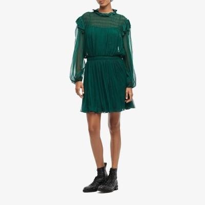 ジェイソンウー レディース ワンピース トップス Silk Crinkle Chiffon Dress