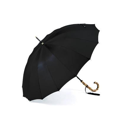 <前原光榮商店/マエハラコウエイショウテン> 雨傘「トラッド16」 ブラック【三越伊勢丹/公式】