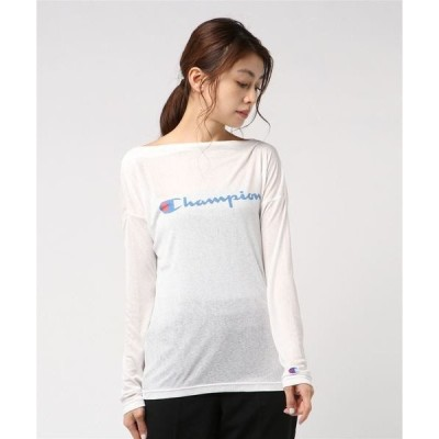 tシャツ Tシャツ 【OUTLET STORE PRICE】【Champion/チャンピオン】アクティブスタイル ボートネックシャツ