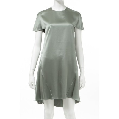 バレンシアガ BALENCIAGA ワンピース ドレス 半袖 レディース 342814 TIC14 カーキ