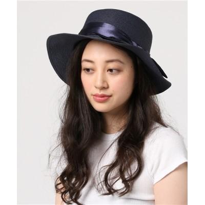 U.Q / リボンポークパイハット WOMEN 帽子 > ハット