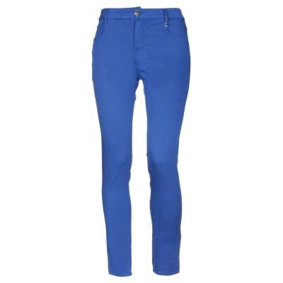 CRISTINAEFFE パンツ ブルー 28 66% コットン 32% ポリエステル 2% ポリウレタン パンツ