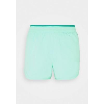 ナイキ カジュアルパンツ レディース ボトムス TEMPO LUXE SHORT  - Sports shorts - green glow/neptune green