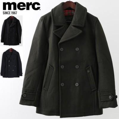 メルクロンドン Merc London Pコート W1 プレミアム 3色 タータンチェック モッズファッション メンズ