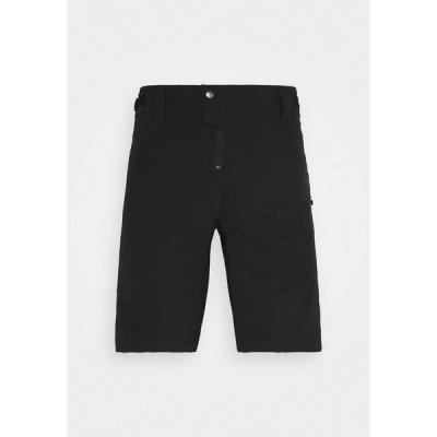 デアツービー カジュアルパンツ メンズ ボトムス DURATION  - Sports shorts - black