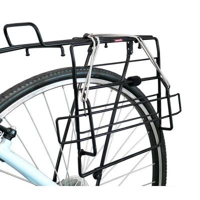 4580253415234  昭和インダストリーズ  自転車用サイドサブキャリア  SR-100A 自転車用サイドバッグホルダー  ブラック