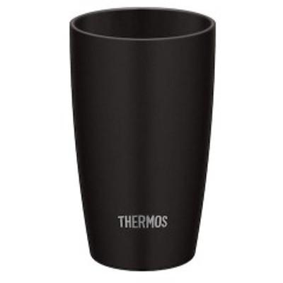 THERMOS 真空断熱タンブラー 陶器調 340mL ブラック(BK) サーモス