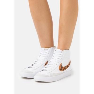 ナイキ レディース スニーカー シューズ BLAZER MID '77 - High-top trainers - white white