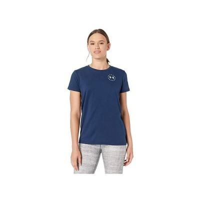アンダー アーマー Freedom Flag T-Shirt レディース シャツ トップス Academy/White