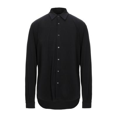 アスペジ ASPESI シャツ ブラック XXL コットン 100% シャツ