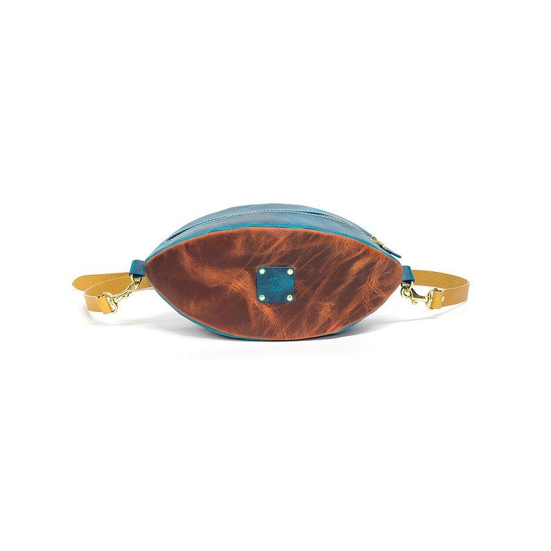 DIY 橄欖球造型休閒側背包 / M1-052 / 材料包