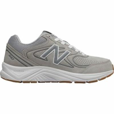 ニューバランス New Balance レディース ランニング・ウォーキング シューズ・靴 WW840v2 Walking Shoe Grey/Grey/White Leather