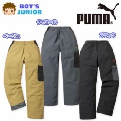 子供服 男の子 ロング カーゴ パンツ PUMA プーマ ボトム ナイロン 後身裏トリコット男児 ジュニア