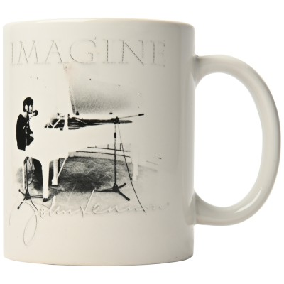 JOHN LENNON ジョンレノン (追悼40周年 ) - Imagine / マグカップ 【公式 / オフィシャル】