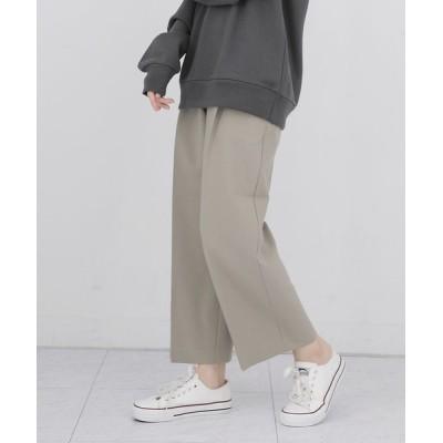 UNE MANSION / センタープレスタックパンツ WOMEN パンツ > スラックス