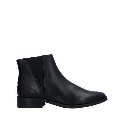 ROYAL REPUBLIQ ショートブーツ ブラック 40 革 / 伸縮繊維 ショートブーツ