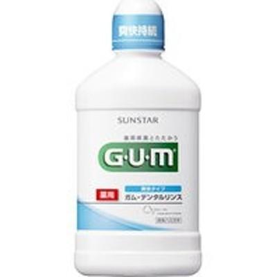 GUM(ガム)薬用デンタルリンス爽快タイプ500ml