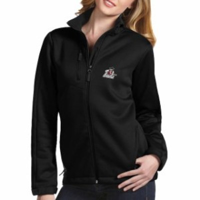 Antigua アンティグア スポーツ用品  Antigua New Mexico State Aggies Womens Black Traverse Full-Zip Jacket