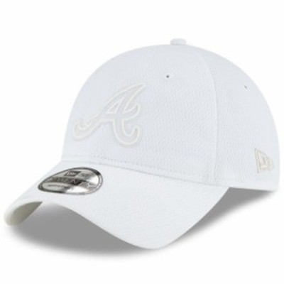 New Era ニュー エラ スポーツ用品  New Era Atlanta Braves White 2019 Players Weekend 9TWENTY Adjustable Hat