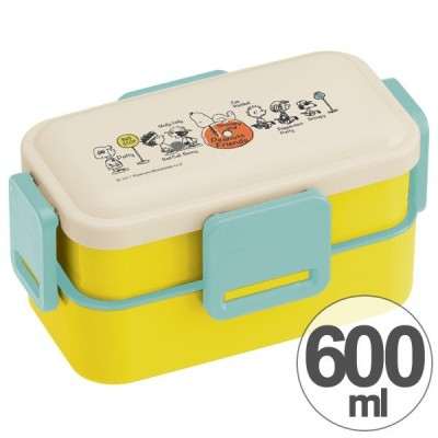 お弁当箱 スヌーピー ともだち ふわっと弁当箱 2段 600ml キャラクター ( ランチボックス ドーム型 食洗機対応 )