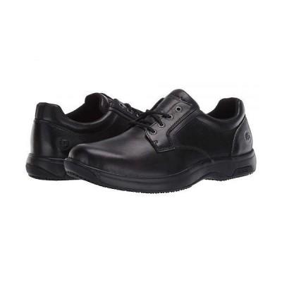 Dunham ダナム メンズ 男性用 シューズ 靴 オックスフォード 紳士靴 通勤靴 8000 Service Plaintoe - Black