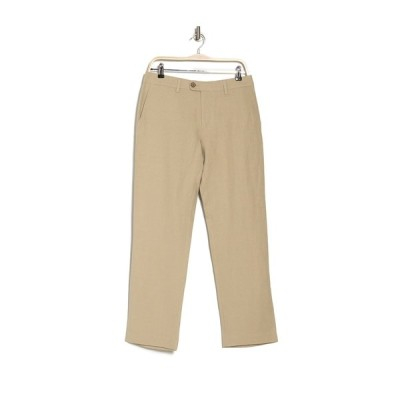 トッミーバハマ メンズ カジュアルパンツ ボトムス Monterey Flat Front Trousers DUSTY MAHO