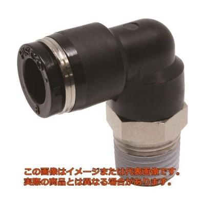 ピスコ チューブフィッティング エルボ 適合外径8mm 接続口径R1/4 PL802