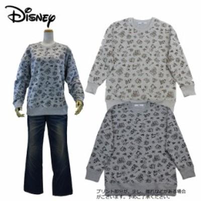 Disney ディズニー 裏起毛トレーナー(M・Lサイズ)レディース