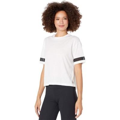 ニューバランス New Balance レディース Tシャツ トップス Relentless Boxy Tee White