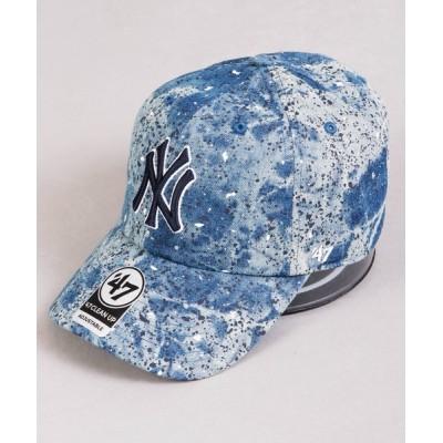 FUNALIVE / 【47 brand】オフィシャルメジャーリーガー 球団ロゴ立体ロゴ刺繍 ベースボールキャップ MEN 帽子 > キャップ