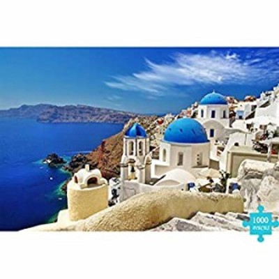 1000 Pieces of Adult or Children Jigsaw Puzzle Toy Puzzle gameunique Home Decorations and Gifts- Aegean Sea