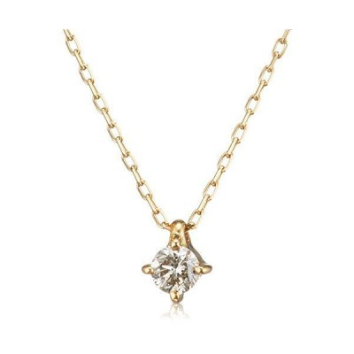 [ブルーム] ダイヤモンド イエローゴールド K18 ネックレス BGPGB1653940