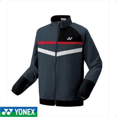 [YONEX]ヨネックス 男女兼用テニスウェア ウィンドウォーマーシャツ (70062)(075) チャコール[取寄商品]