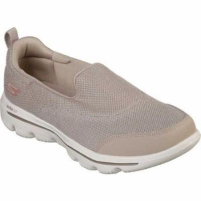 スケッチャーズ スリッポン・フラット GOwalk Evolution Ultra Rapids Slip-On Shoe Taupe